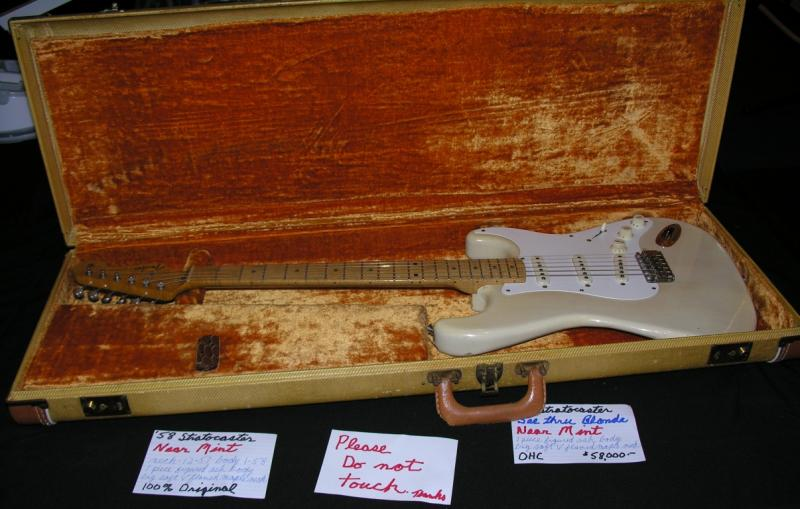 Original mint 1968 Fender Stratocaster for sale