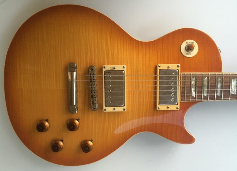 Vintage 1980s 1970s Burny Les Paul Fine Example