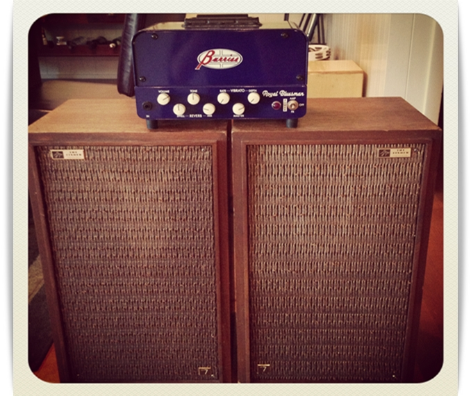 Vintage Home Stereo Speakers: Repurposed As Rockin Guitar Cabinets