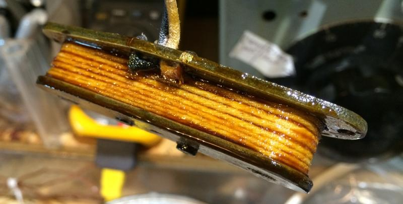 1968 Telecaster Bass pickup during Restoration
