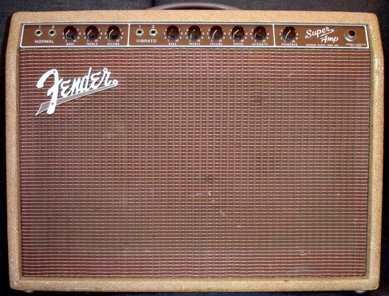 Amps That Don't Exist - Part One: 1959 Brown Fender Super