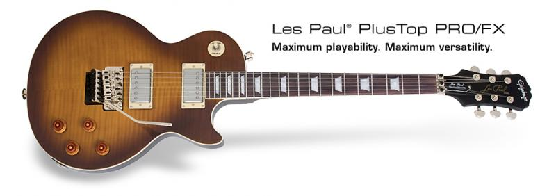 Epiphone Les Paul Plus Top PRO FX