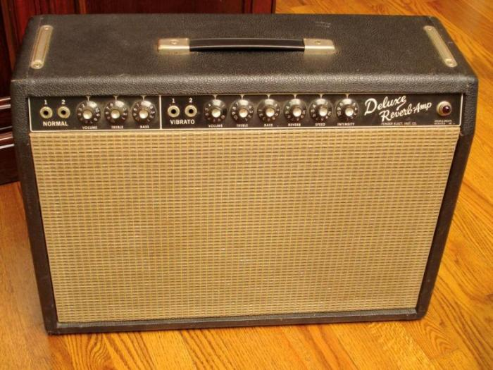 My personal 1965 Fender Deluxe Reverb Amp