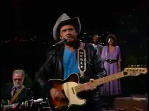 Merle Haggard with Telecaster