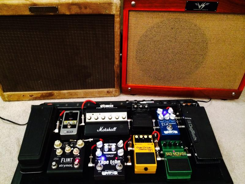 ultimate guitar pedal board pedalboard
