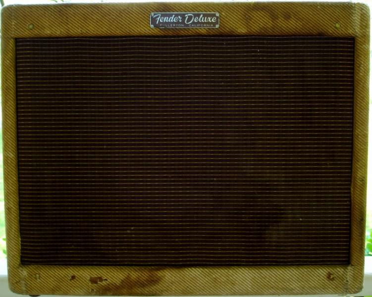 1959 Fender Narrow Panel Tweed Deluxe Amp