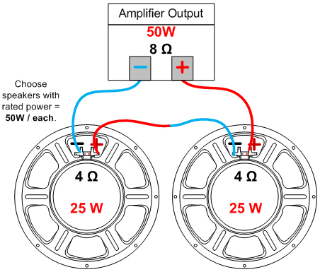 Wiring Two 1x12 Cabs Seriesparallel on speaker wiring diagram