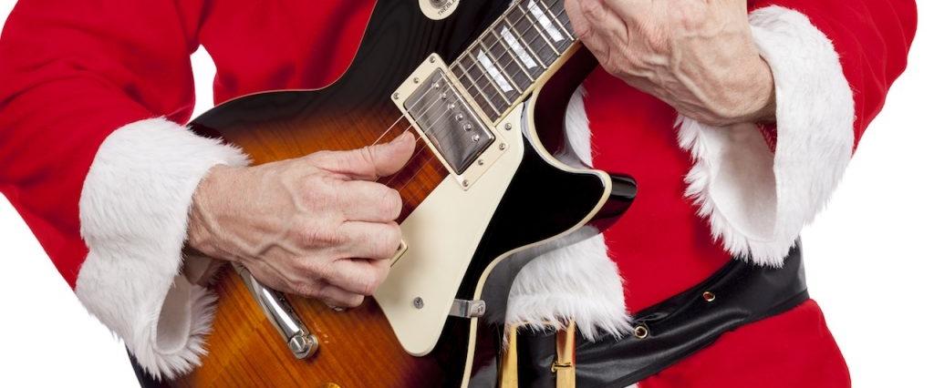 Christmas Guitar Player