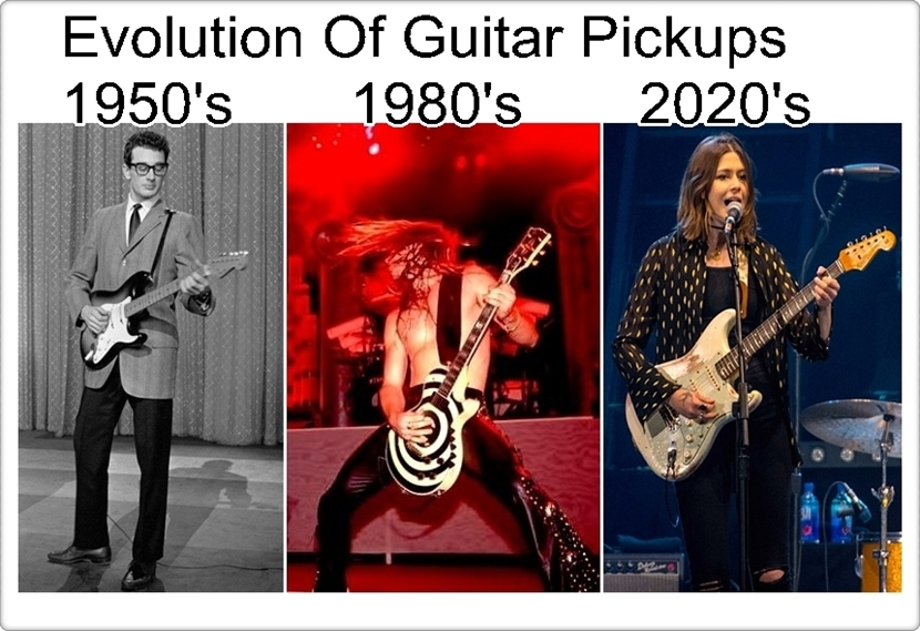 evolution of guitar pickups