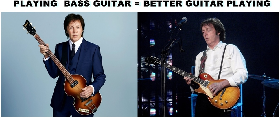 pAUL mCcARTNEY BASS MAKES BETTER GUITAR PLAYER