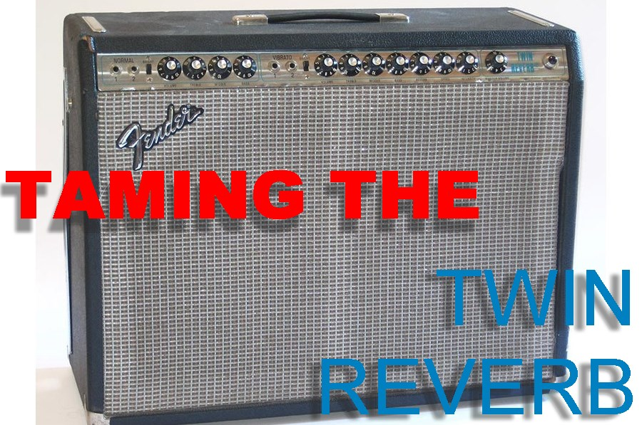 Taming the Fender Twin Reverb Amp: From Twin Reverb to Princeton Reverb!