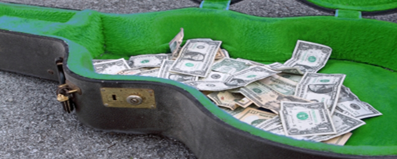 how much should you get paid to play guitar